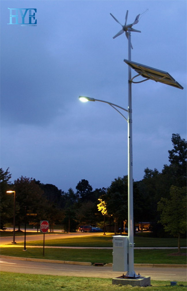 30W LED hybrid street light
